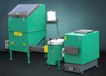 06653049 Automatyczny zestaw do spalania biomasy 2m3 400V 30kW, głowica: ceramiczna, bez systemu usuwania popiołu (paliwo: trociny, wióry, zrębki)