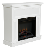 82855029 Kominek elektryczny z obudową Classic Flame Kemi (kolor: biały)