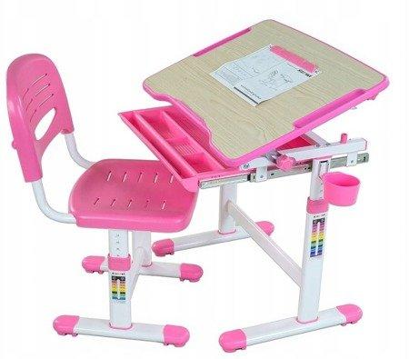 Biurkosa Biurko + Krzesełko dla dziecka zestaw Pink 11976310