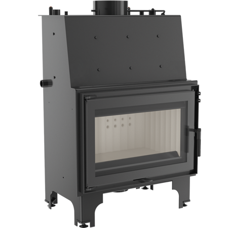 DOSTAWA GRATIS! 30045552 Wkład kominkowy 12kW AQUARIO O12 z płaszczem wodnym, wężownicą (szyba prosta) - spełnia anty-smogowy EkoProjekt