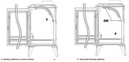 DOSTAWA GRATIS! 86829181 Piec wolnostojący Invicta 10kW Sedan M (kolor: emalia kość słoniowa) - spełnia anty-smogowy EkoProjekt