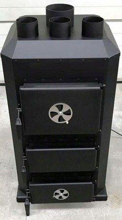 DOSTAWA GRATIS! 95464406 Piec nadmuchowy 20kW, blacha kotłowa 6 i 10mm (paliwo: drewno, miał węglowy, węgiel brunatny, węgiel kamienny, pellet)