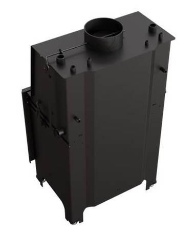 KONS Wkład kominkowy 10kW AQUARIO Z10 PW GLASS z płaszczem wodnym, wężownicą (szyba prosta) - spełnia anty-smogowy EkoProjekt 30065525