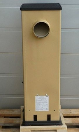 POMA Piec wolnostojący Thorma 2,5-7,5kW Bozen na drewno i węgiel (kolor: beżowy, spaliny: tył) - spełnia anty-smogowy EkoProjekt 88869079