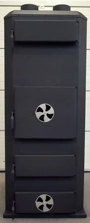 Piec nadmuchowy 70kW, blacha kotłowa 6 i 10mm (paliwo: drewno, miał węglowy, węgiel brunatny, węgiel kamienny, pellet) 95476621
