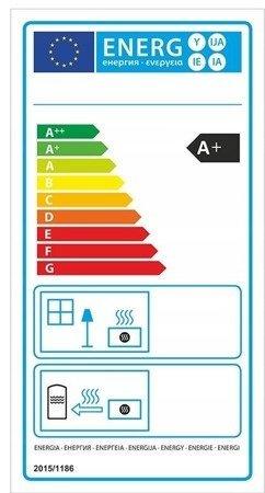 Piec wolnostojący 8kW (kolor: brązowy) - spełnia anty-smogowy EkoProjekt 99672980