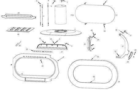 Piec wolnostojący Invicta 10kW Fifty Arche (średnica wylotu spalin: 150mm, kolor: antracyt) - spełnia anty-smogowy EkoProjekt 86868882