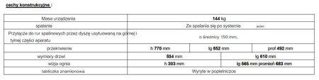Piec wolnostojący Invicta 12kW Mandor (kolor: antracyt) - spełnia anty-smogowy EkoProjekt 86829206