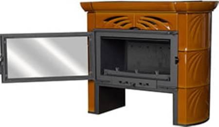 TOPGAR Piec kaflowy 9,4kW brąz (średnica wylotu spalin: 180 mm) - spełnia anty-smogowy EkoProjekt 19877511