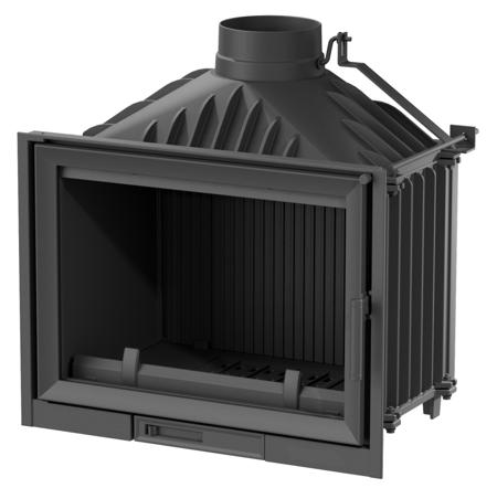 TOPSTOVE Wkład kominkowy 14kW (szyba prosta) - spełnia anty-smogowy EkoProjekt 58477282