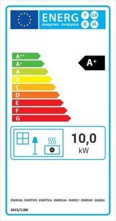 Wkład kominkowy 10kW Lucky Slim (szyba prosta) - spełnia anty-smogowy EkoProjekt 30063869