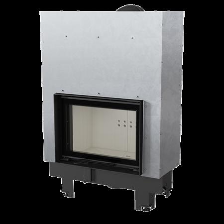 Wkład kominkowy 10kW MBM Gilotyna (szyba prosta, drzwi podnoszone) - spełnia anty-smogowy EkoProjekt 30055016