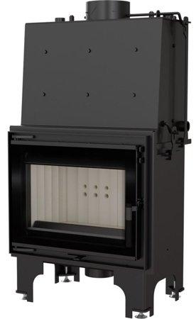Wkład kominkowy 12kW AQUARIO M12 PW GLASS z płaszczem wodnym, wężownicą (szyba prosta) - spełnia anty-smogowy EkoProjekt 30065529