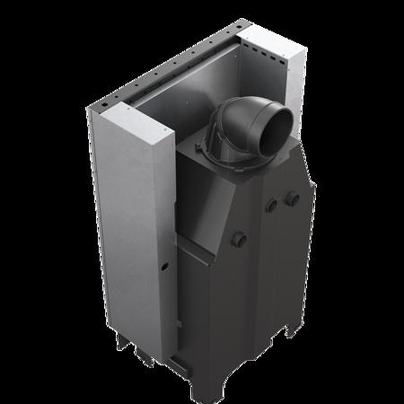 Wkład kominkowy 13kW MBZ 13 Gilotyna (szyba prosta, drzwi podnoszone do góry) - spełnia anty-smogowy EkoProjekt 30053248