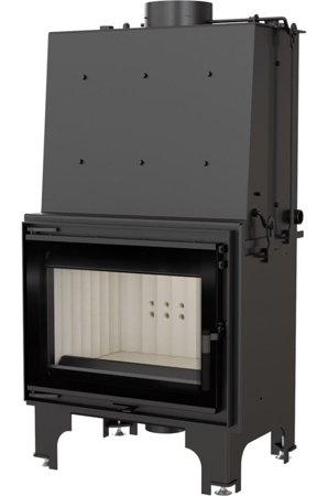Wkład kominkowy 14kW AQUARIO Z14 PW GLASS z płaszczem wodnym, wężownicą (szyba prosta) - spełnia anty-smogowy EkoProjekt 30065524