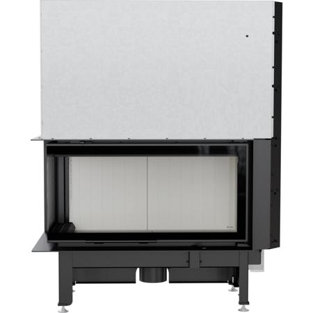 Wkład kominkowy 14kW Nadia Gilotyna (lewa boczna szyba bez szprosa, drzwi podnoszone do góry) - spełnia anty-smogowy EkoProjekt 30046757