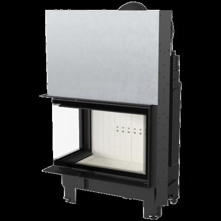 Wkład kominkowy 17kW MBA BS Gilotyna (lewa boczna szyba bez szprosa, drzwi podnoszone) - spełnia anty-smogowy EkoProjekt 30055012